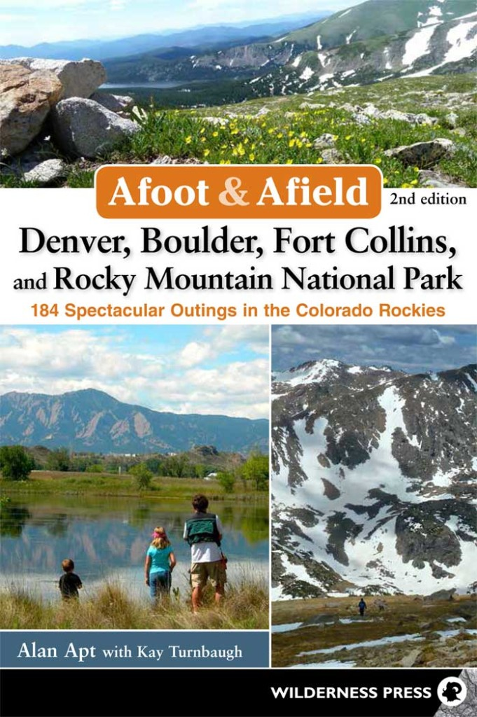 Book Cover: Afoot and Afield: Denver, Boulder, Fort Collins, RMNP