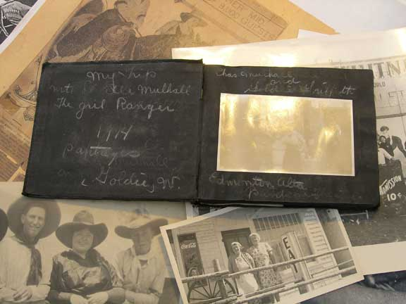 One of Goldie's Scrapbooks